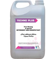 TECHNO PLUS Free Rinse-Rinse Free Detergent and Disinfectant With a Unique Long Lasting Smell